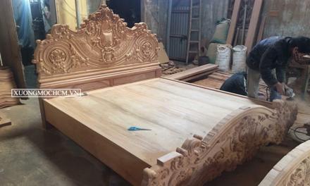 Xưởng mộc đóng đồ gỗ tại quận 3