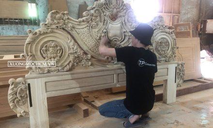 Xưởng mộc chuyên gỗ tại Gò Vấp
