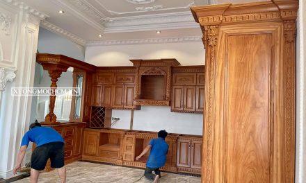 Xưởng mộc Bình Thạnh nhận đóng đồ gỗ giá tốt