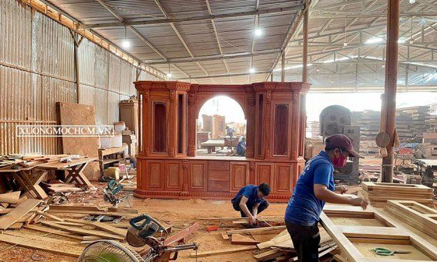 Xưởng mộc ở Long An chuyên đóng nội thất