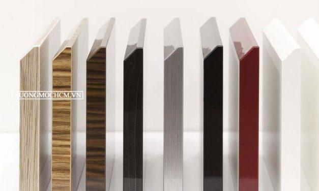 Dán cạnh gỗ Acrylic không đường line là gì