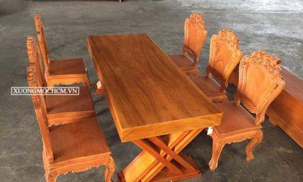 Đóng bàn ghế ăn đẹp ở đâu tại Tp HCM giá rẻ