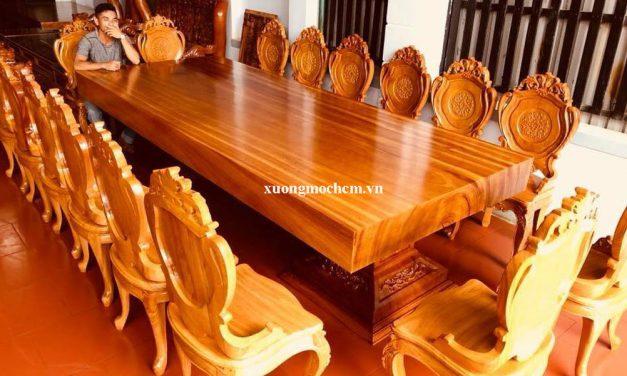 Đóng bàn ghế ăn đẹp ở đâu
