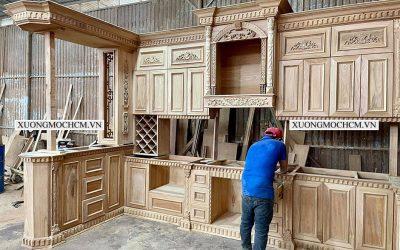 Xưởng mộc ở Thủ Dầu Một thi công đồ gỗ nội thất