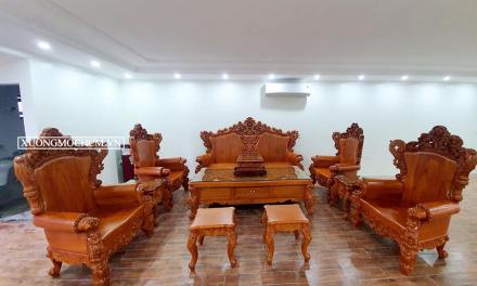 Hình ảnh những mẫu bàn ghế phòng khách đẹp vạn người mê