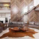 Mê mẩn với hình ảnh những mẫu sofa gỗ óc chó đẹp hiện đại